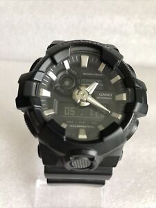 Casio Gents' Black G-Shock GA-700-1BER Chronograph Men's Watch.