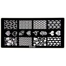 Manicure Konad Nail Art Image Stamp Stamping Plates My Sweet Heart BCN02