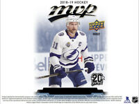 2018-19 Upperdeck MVP hockey SILVER SCRIPTS Parallel u Pick from list #1-250 SP