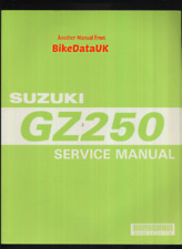 Suzuki GZ250 Marauder (99-04) Genuine Factory Shop Manual GZ GN 250 Single CA89