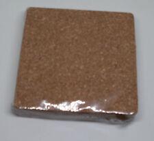 6 Kork-Untersetzer ( Korkuntersetzer ) Maße 95 x 95 x 3 mm ( 9,5 cm ) NEU OVP