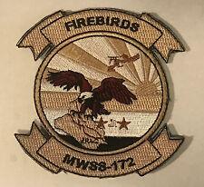 US MARINE USMC MWSS-172 FIREBIRDS MARINE WING SUPPORT SQUADRON PATCH