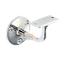 """63mm 2.1/2"""" CP CHROME PLATED HANDRAIL Bracket Staircase Banister Support"""