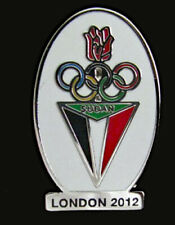 2012 LONDON Olympic SUDAN NOC Internal team - delegation dated RARE Limited pin