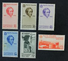 CKStamps: Italian Stamps Collection Scott#349-354 Mint H OG