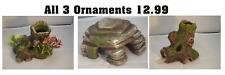 Resin Aquarium Ornaments  x  3 - NQP