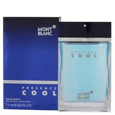 Mont Blanc Presence Cool EDT for Men 75 ml    Genuine Mont Blanc Men's Perfume