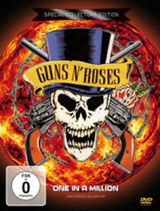 Guns 'N' Roses: One in a Million DVD (2016) Guns N' Roses cert E ***NEW***