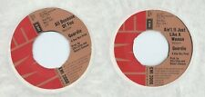 DISCO 45 GIRI      GEORDIE – ALL BECAUSE OF YOU // AIN'T IT JUST LIKE A WOMAN
