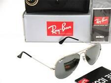 Ray-Ban Aviator  3025 RB 3025 W3275 55mm Silver Frame /  Grey Mirror Small