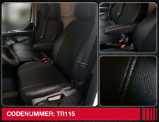 Ford Tourneo Custom Coupe Sitzbezüge Housses de Protection Noir-Gris 1+2 simili cuir
