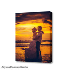 Canvas Wall Art, Wedding Picture Photo Print, Interior Home Decor, Wedding Photo