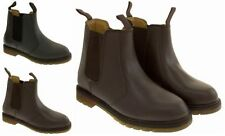 Chelsea, Ankle 100% Leather Standard Width (D) Shoes for Men