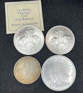 Bahama Islands 1966 $1 Uncirculated - .4666oz asw - Silver Coin