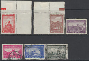 SERBIA German occupation lot of old postal stamps used / MNG