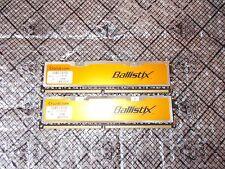 2GB (1GBx2) Crucial Ballistix PC2-6400 800mhz NON-ECC DDR2 BL12864AA804.16FD3