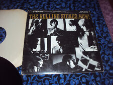 "THE ROLLING STONES, NOW! 1964 PS-420 Stereo London Records w/ ""blind man"" quote"