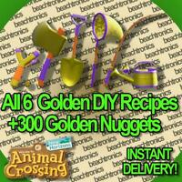 All 6 Golden DIY Recipe + 300 Golden Nuggets + Gifts  Fast Deliveryy !!!