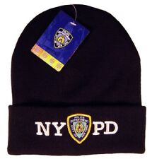 NYPD Winter Hat Beanie Skull Cap Officially Licensed by The New York City...