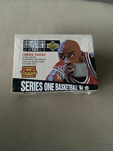 "1994/95 Upper deck Collector's Choice S1 ""JUMBO"" Factory SEALED BOX"