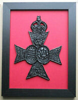 Large Scale Framed QUEEN'S WESTMINSTER RIFLES BADGE
