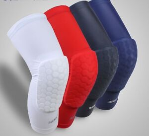 McDavid Knee Pad Compression Extended Support Leg Sleeves Hexpad Protective Hex