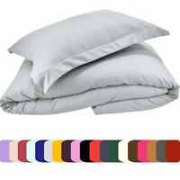 Mezzati Duvet Cover Set Soft and Comfortable Brushed Microfiber Bedding