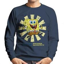 SpongeBob SquarePants Retro Japanese Men's Sweatshirt