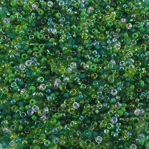 11/0 23 g Miyuki Japanese Round Seed Beads  MIX