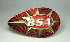 d Vtg Orig BSA TEAR DROP GAS TANK BADGE Emblem JF 4212 RIGHT SIDE A65 A50 Models