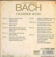 Johann Sebastian Bach Chamber Music box CD NEW 14-disc