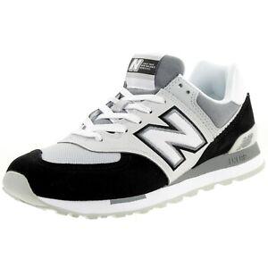 New Balance ML 574 Nlc Classic Sneaker Men's Shoes Black Grey