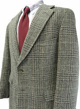 Ralph Lauren Polo University Tweed 44R 100% Wool Blazer Sport Jacket Coat