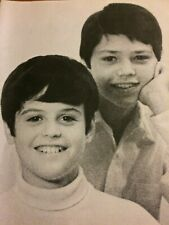 The Osmonds, Osmond Brothers, Full Page Vintage Pinup