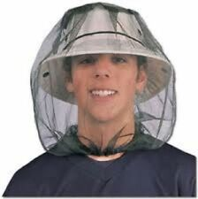 Mosquito Insect Midge Flies Bug Net Head Mesh Face Protector Travel Camping UK