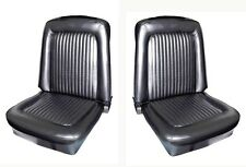 NEW! 1968 Ford Mustang Seat covers Upholstery Buckets Black Pair Left Right