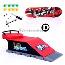 Skate Park Ramp Parts for Tech Deck Finger Board Fingerboard Ultimate Parks  D
