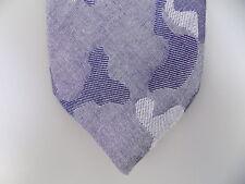 "TALLIA $75 MEN Gray Geometric Skinny WIDTH 2.5"" NECK TIE 100% Cotton SALE S18"
