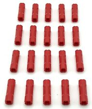 Lego 20 New Red Technic Axle Connector 3L Pieces Parts