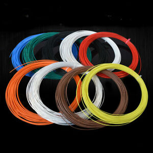 Multi-Strand PTFE F46 Silver Plated Copper Wire Cable 14/16/18/19/20/22/24/30AWG