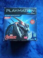 Hasbro SHIPSAMEDAY Playmation Marvel Avengers Ultron Prowler Bot Silver//Blue