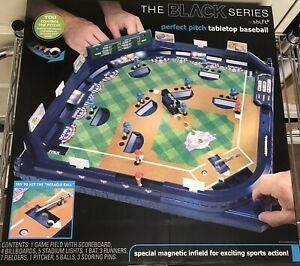 The Black Series Perfect Pitch Tabletop Baseball New Magnetic Infield