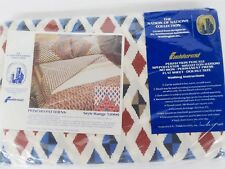 Fieldcrest Smithsonian Nation Nations Poncho Aztec Southwest Full Flat Sheet