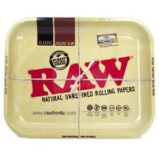 RAW Classic Large Metal Rolling Tray -14x11