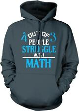 4 out of 3 People Struggle With Math Common Core School Einstein Hoodie Pullover