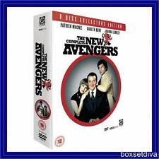 THE NEW AVENGERS - COLLECTORS BOXSET- COMPETE SERIES 1 & 2 **BRAND NEW DVD**