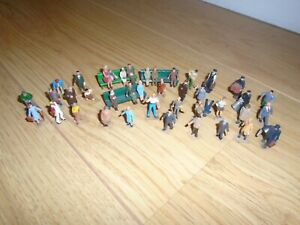 Collection of Scenic Figurines for Hornby OO Gauge Train Sets