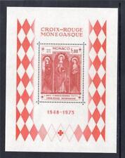 MONACO MNH 1973 MS1072 25TH ANV OF MONACO RED CROSS