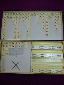 Scrabble & Junior Scrabble spare Letter Tiles. Just buy the ones you need
