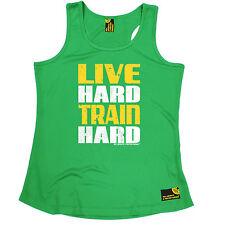 Tren de duro en vivo duro SWPS para mujer Dry Fit Chaleco Regalo de Cumpleaños Gimnasio Fitness Training